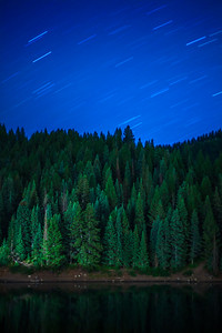 #Star trails are one of my favorite things in the #universe to #photograph. This shot was taken at #Tibblefork #reservoir and sadly, it will never look like this again due to the construction on the new dam. #pines #lake #peaceful #majestic #uintah #nationalforest #AmericanFork #canyon