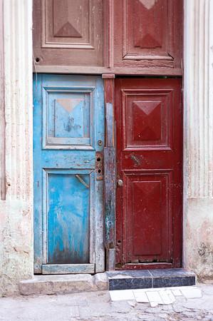 Multi Color Door