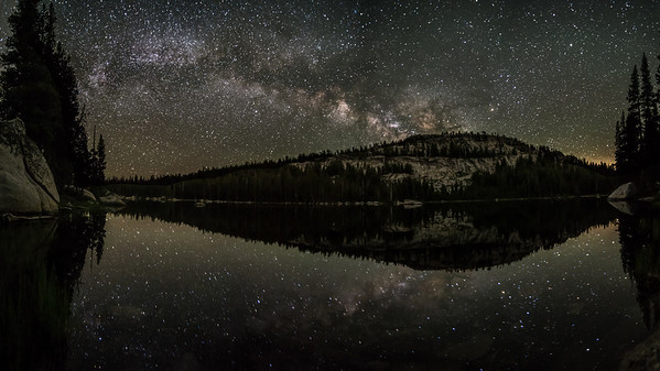 Milky Way at Polly Dome Lake, Yosemite