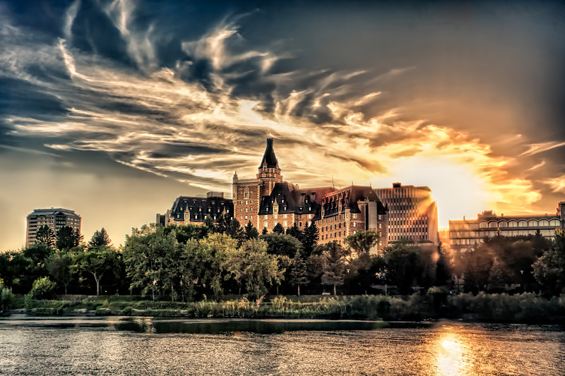 Bessborough Sunset   (SA1110)