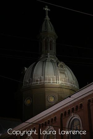 Cincinnati Skyline at Night