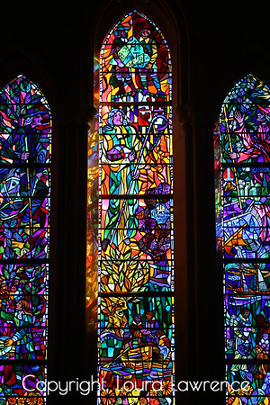 Stained Glass Windows, National Cathedral, Washington, D.C.