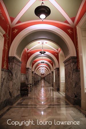 Library of Congress, Lower Hallway, Washington D.C.
