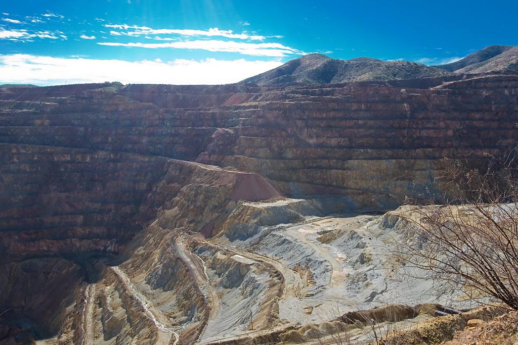 Bisbee Lavender Pit Mine