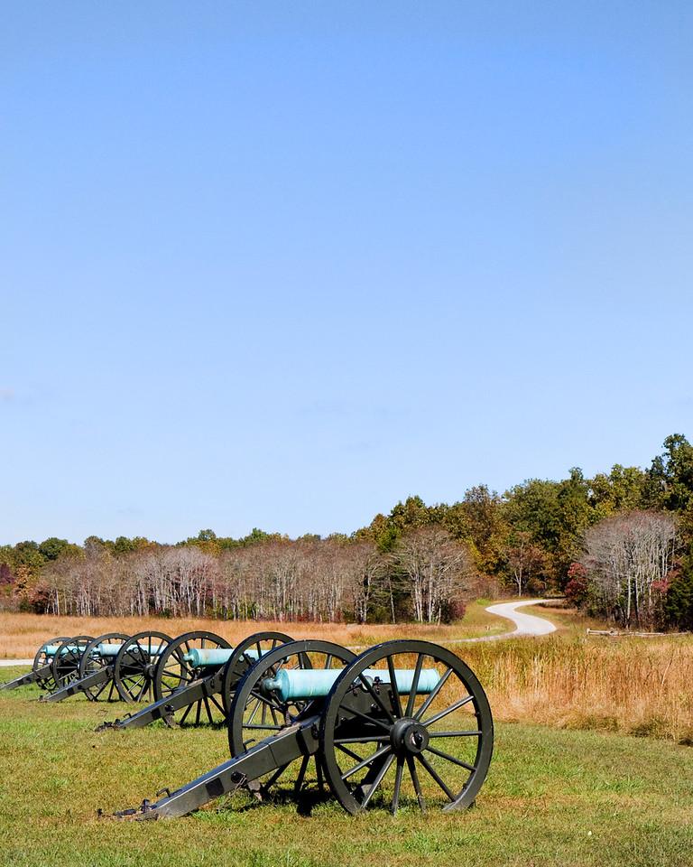 Pea Ridge Civil War Battle Field
