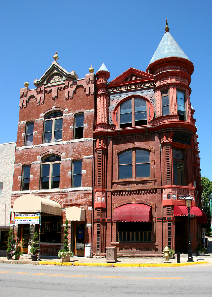 King Opera House - Van Buren AR - Crawford County <br> Victorian Era building built in the late 1800's.   Restored and reopened in 1979