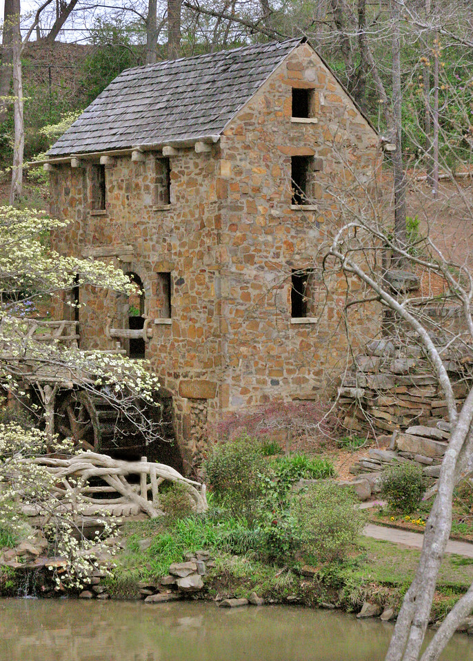 A popular picture view of the mill<br /> The Old Mill