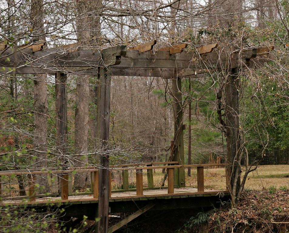 The Daniel's Japanese Gardens in Camdem Arkansas