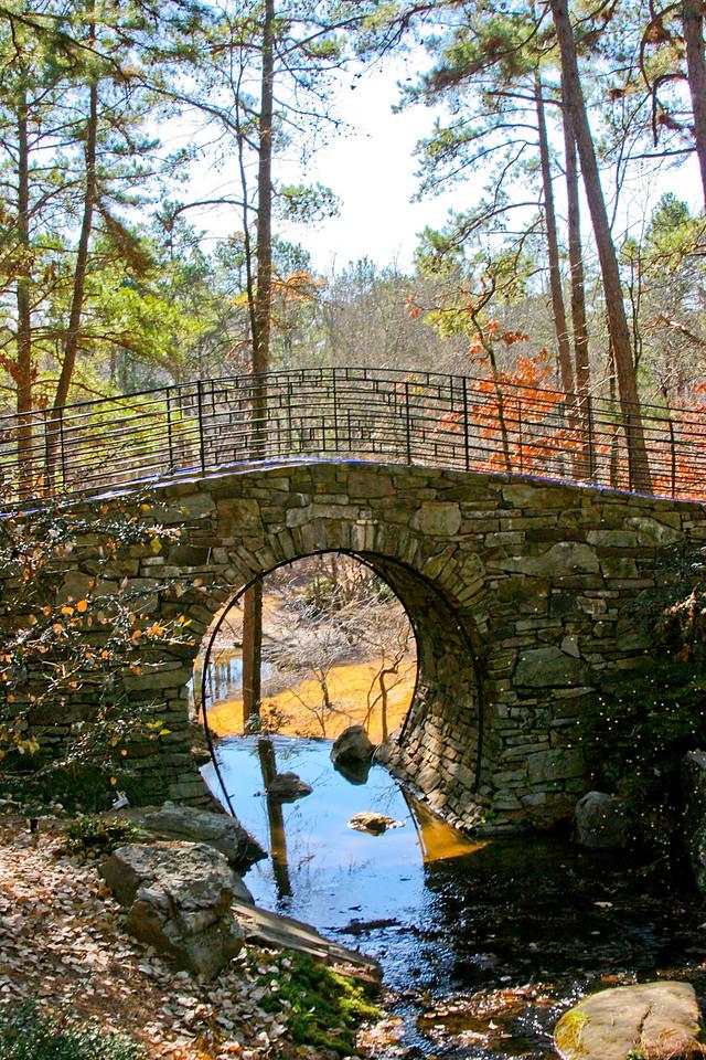 Joy Manning Scott Full Moon Bridge <br> 12/29/05 Garvan Woodland Gardens