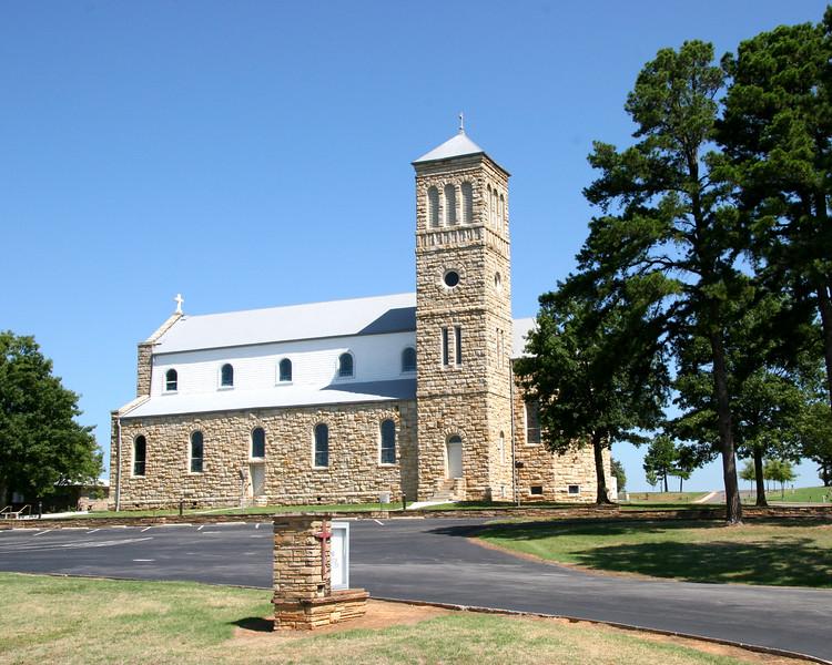 Saint Mary's Catholic Church - 5118 St. Mary's Ln. - Altus, AR 72821