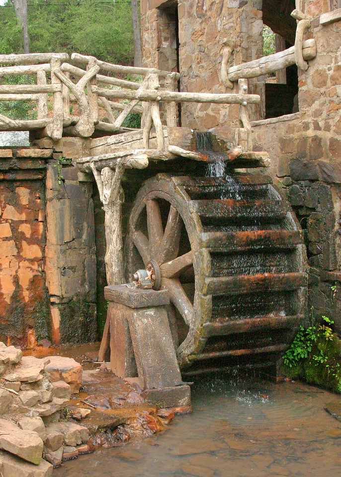 water mill working<br /> The Old Mill