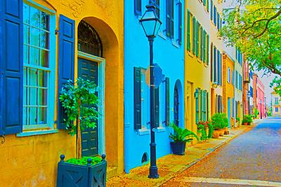Rainbow Row_Charleston, SC