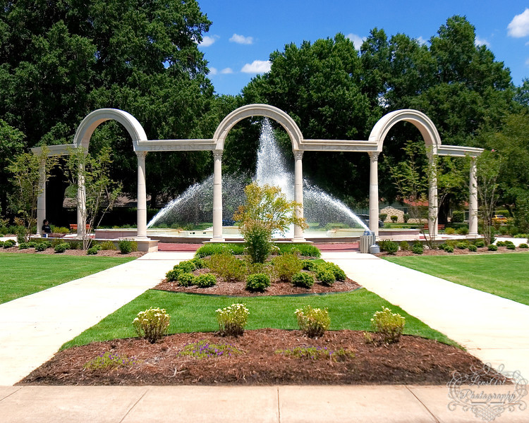 Lu Hardin Fountain Plaza<br /> University of Central Arkansas, Conway AR