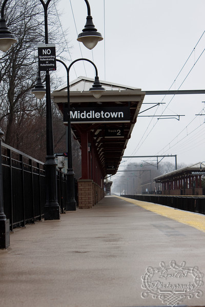 Train station in Middletown NJ