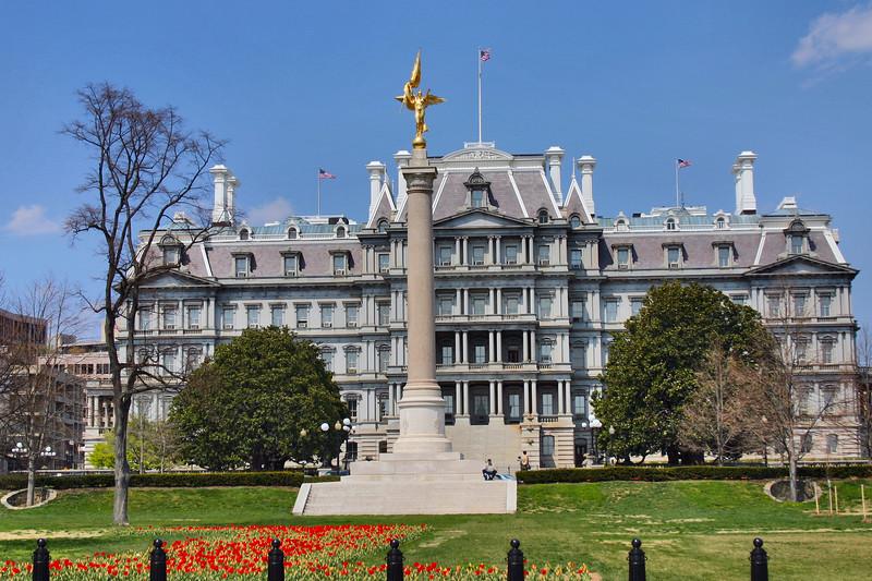 Eisenhower Executive Office Building - Washington DC (next door to the White House)