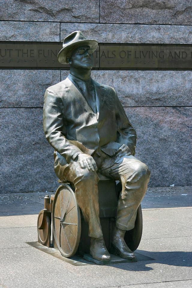 Statue of FDR<br /> Washington DC