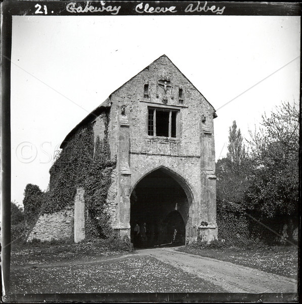 Gateway or Gatehouse at Cleeve Abbey, Somerset, England. On 25th June 1198 the new Abbey of Cleeve was founded, dedicated to the Blessed Virgin.