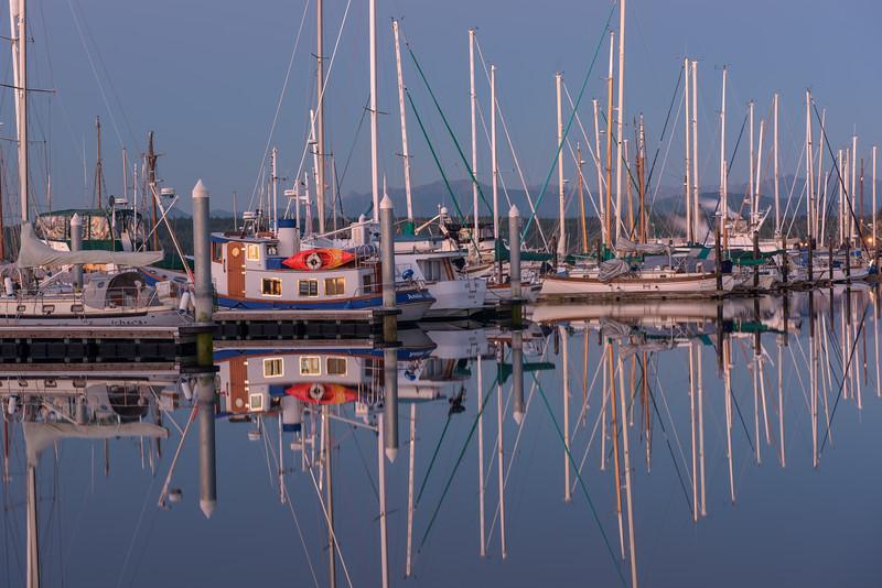 Docked Reflection