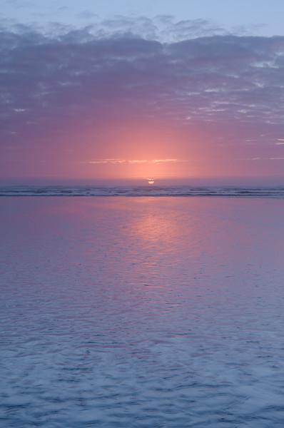 Seabrook Sunset (Vertical)