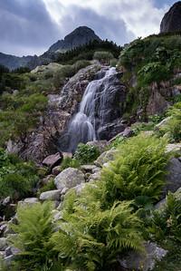 Retezat - cascada dintre lacul Viorica si Florica