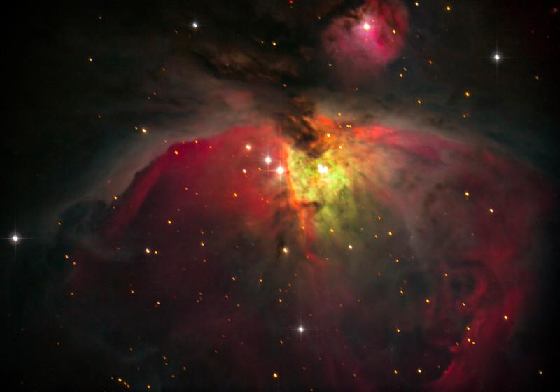 Inside the Orion Nebula