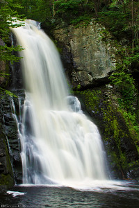 Bushkill Falls Waterfall