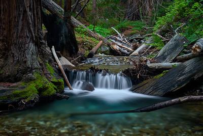 Cascades on Limekiln Creek