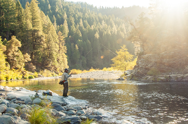 Yuba River Fishing