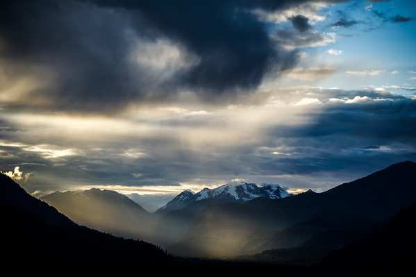 Moments of light in the Methow Valley, Washington