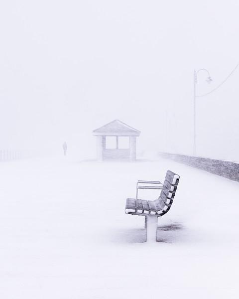 Penzance Promenade Whiteout
