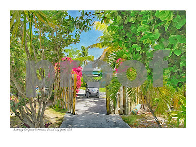 Entering The Gates To Heaven Staniel Cay Yacht Club