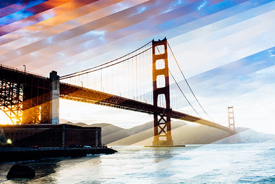 GOLDEN GATE BRIDGE TIMESLICE