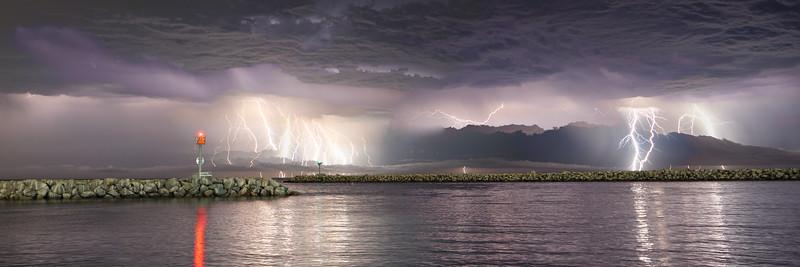 Dana Point Harbor Thunderstorm