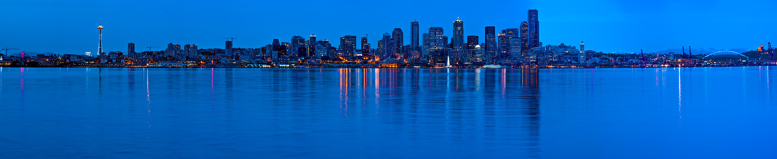 Seattle City Panorama