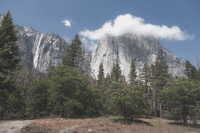 Cloud on El Cap