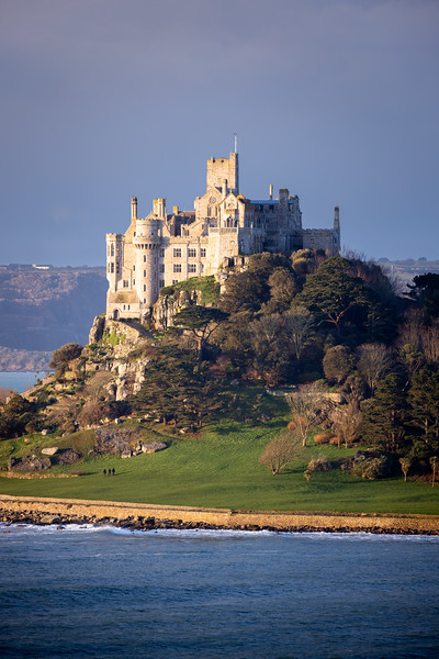 St Michael's Mount in the Morning Light