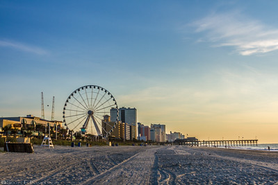 Myrtle Beach Skywheel Sunrise