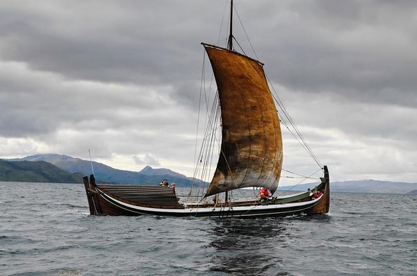 Nordland boat sailing on Ofotfjorden