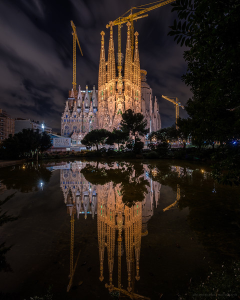 Reflections at the Sagrada Familia