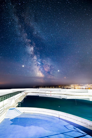 Milky Way over Jubilee Pool