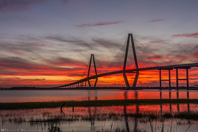 Cooper River Bridge Sunset 2