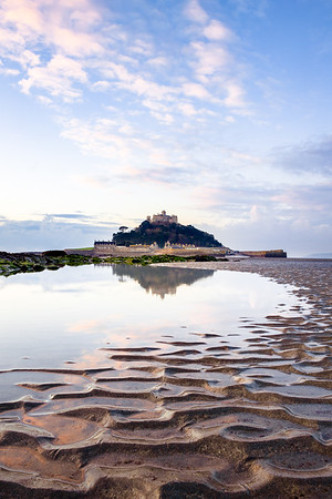 Ripples & Reflection at St Michael's Mount