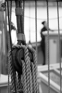 Skepp Trekronor i Örnsköldsvik 2013 -  Two masters sailing ship