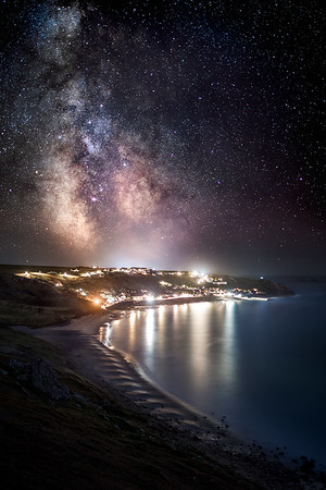 Sennen Cove Milky Way