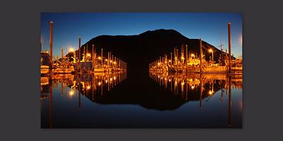 Boat Harbor in Petersburg, Alaska