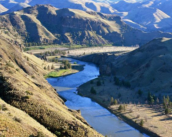 John Day River near Clarno, Oregon