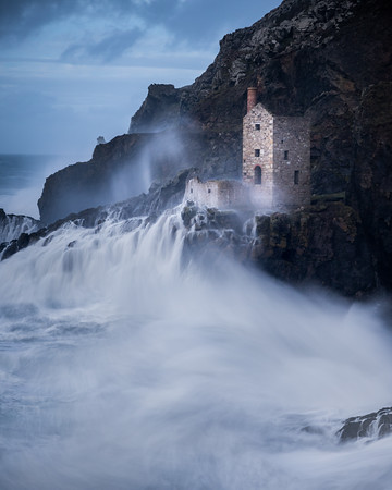 Botallack Crown Mine Storm