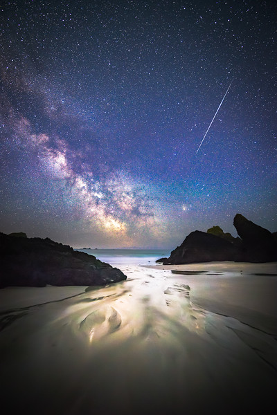 Kynance Cove and the Milky Way
