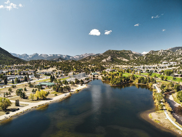 Estes Park, CO - Drone