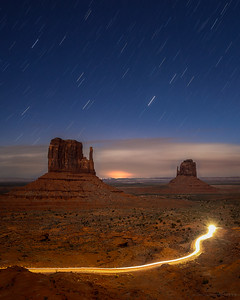 Endless Wishes under the Desert Sky